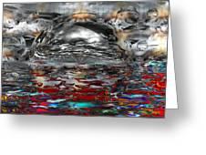 Acid Rain Greeting Card by Robert Orinski