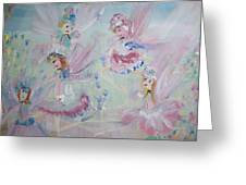 Act  Two Fairies Greeting Card by Judith Desrosiers