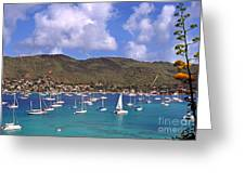 Admiralty Bay Greeting Card by Thomas R Fletcher