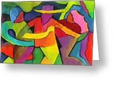 Adoracion Greeting Card by John Crespo Estrella
