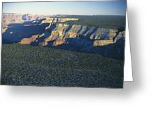 Aerial View Of Kaibab Greeting Card by Norbert Rosing