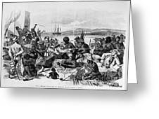 Africa: Slave Trade, C1840 Greeting Card by Granger