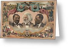 African Americans, C1881 Greeting Card by Granger
