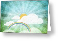 After Rainy Greeting Card by Setsiri Silapasuwanchai