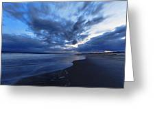Afterglow On Fire Island Greeting Card by Rick Berk