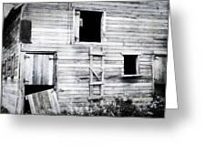 Aging Barn Greeting Card by Julie Hamilton