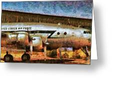 Air - United States Air Force Greeting Card by Mike Savad