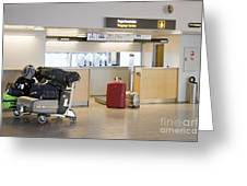 Airport Baggage Area Greeting Card by Jaak Nilson