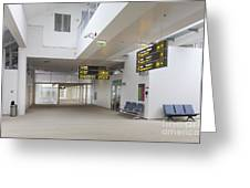 Airport Concourse Greeting Card by Jaak Nilson