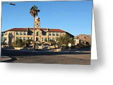 Ajo Arizona Greeting Card by Jim Vansant