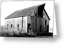 Albert City Barn 3 Greeting Card by Julie Hamilton