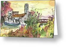 Albufera De Valencia 25 Greeting Card by Miki De Goodaboom