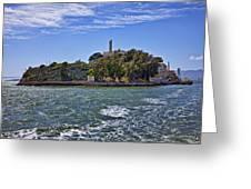 Alcatraz Island San Francisco Greeting Card by Garry Gay