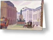 Aldwych  Greeting Card by Robert Polhill Bevan