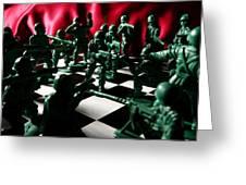 Alekhine's Gun Greeting Card by Lon Casler Bixby