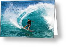 Alex Gray Carving Greeting Card by Paul Topp