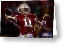 Alex Smith - 49ers Quarterback Greeting Card by Paul Ward