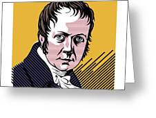 Alexander Von Humboldt, German Naturalist Greeting Card by Smetek