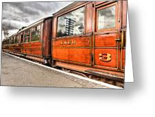 All Aboard Greeting Card by Adrian Evans