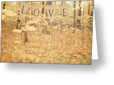 All Is Love Greeting Card by Irene Suchocki