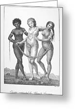 Allegory: Slave Trade, 1796 Greeting Card by Granger