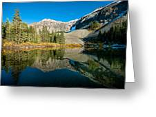 Alta Lakes Greeting Card by Josh Whalen