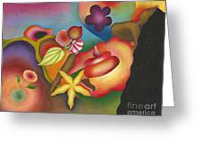 Altar Of Womanly Wisdom Greeting Card by Mucha Kachidza