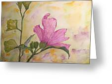 Althea Greeting Card by Stella Schaefer