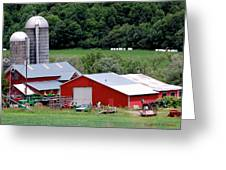 Americas Heartland Greeting Card by DigiArt Diaries by Vicky B Fuller
