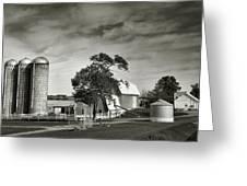 Amish Farmstead II Greeting Card by Steven Ainsworth