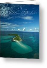 An Island In The Quirimbas Archipelago Greeting Card by Jad Davenport