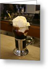 An Old-fashioned Ice Cream Soda Awaits Greeting Card by Stephen St. John