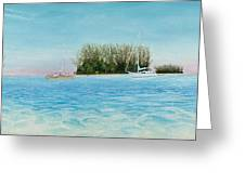 Anchorage At Crystal Bay Greeting Card by Kevin Brant