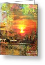 Another Day In Poverty Greeting Card by Fania Simon