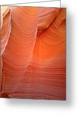 Antelope Canyon - A Dazzling Phenomenon Greeting Card by Christine Till