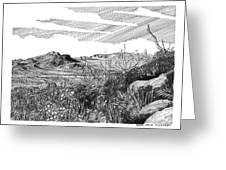 Anthony Gap New Mexico Texas Greeting Card by Jack Pumphrey