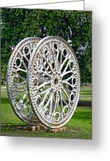 Antique Paddle Wheel University Of Alabama Birmingham Greeting Card by Kathy Clark