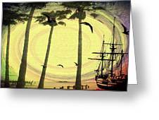 Any Port In A Storm Greeting Card by Bill Cannon