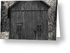 Appalachian Homestead Greeting Card by John Stephens