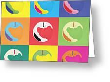Apple 22 Greeting Card by Flo Ryan