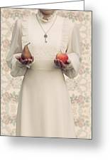 Apple And Pear Greeting Card by Joana Kruse