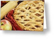 Apple Pie Greeting Card by Stephanie Frey