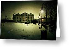 Appleton Waterfront Greeting Card by Joel Witmeyer