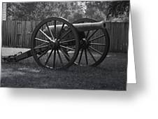 Appomattox Cannon Greeting Card by Teresa Mucha
