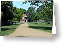 Appomattox County Court House 2 Greeting Card by Teresa Mucha
