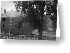 Appomatttox County Jail Virginia Greeting Card by Teresa Mucha
