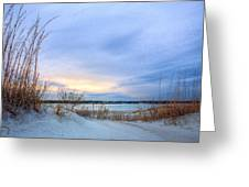 Approaching Storm Greeting Card by JC Findley