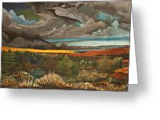 Approaching Storm Greeting Card by Shannon Rains