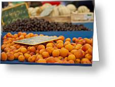 Apricot Season Greeting Card by Nomad Art And  Design