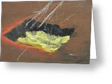 Arab Spring Six The Requiem  Greeting Card by Marwan George Khoury